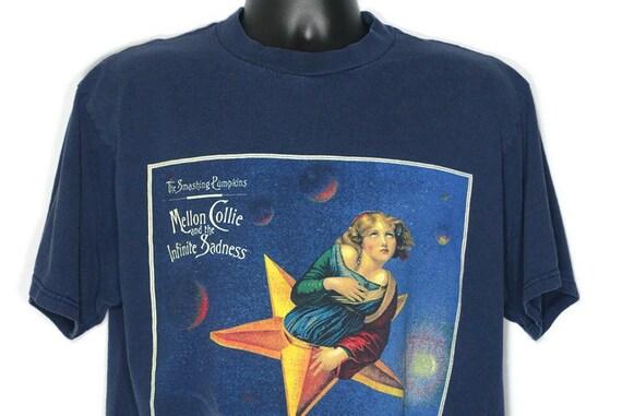 1995 RARE Smashing Pumpkins - John Craig Design Mellon Collie & Infinite Sadness Tour - Double Sided Vintage Concert T-Shirt