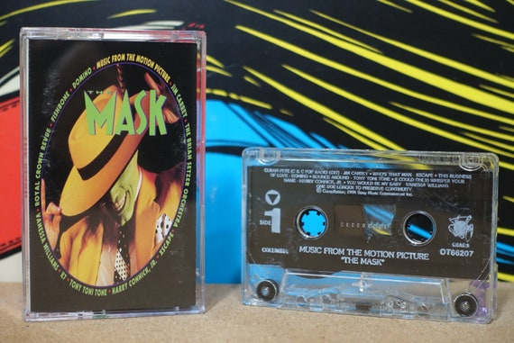 The Mask (Music From The Motion Picture) by Various Artists Vintage Cassette Tape