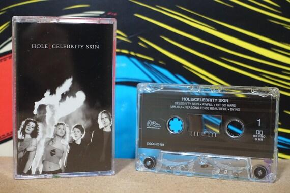 Celebrity Skin by Hole Vintage Cassette Tape