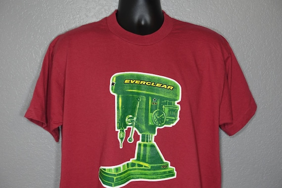 1996 RARE Everclear - '96 Summerland Tour Double-Sided Drill Press Vintage Concert T-Shirt