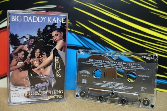 Big Daddy Kane - It's A Big Daddy Thing Cassette Tape - 1989 Cold Chillin' Records Vintage Analog Music
