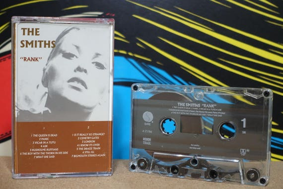 Rank by The Smiths Vintage Cassette Tape