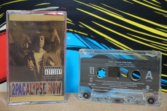 2Pacalypse Now by 2Pac Vintage Cassette Tape