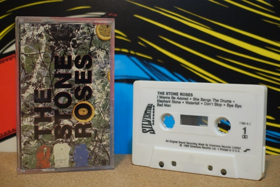 Stone Roses by Stone Roses Vintage Cassette Tape