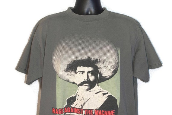 1997 Rage Against The Machine - Emiliano Zapata Giant Concert Vintage T-Shirt