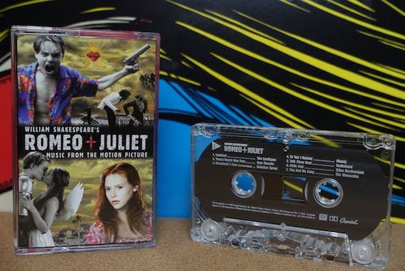 William Shakespeare's Romeo + Juliet (Print ERROR Side 1 plays Side 2 Tracklist) by Various Artists Vintage Cassette Tape