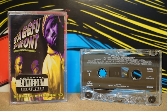 Action Packed Adventure! by Yaggfu Front Vintage Cassette Tape