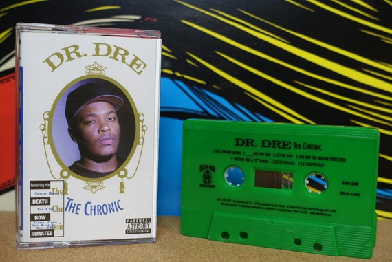 Dr. Dre - The Chronic Cassette Tape - (2021 Re-Issue) Death Row Records Analog Music