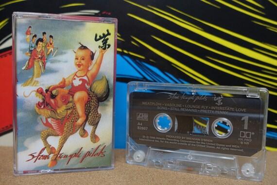 Stone Temple Pilots - STP Purple Cassette Tape - 1994 Atlantic Records - Vintage Analog Music