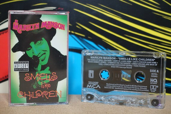 Smells Like Children by Marilyn Manson Vintage Cassette Tape