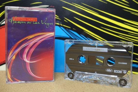 Cocteau Twins Heaven or Las Vegas Cassette Tape - 1990 4AD Capitol Records Vintage Analog Music