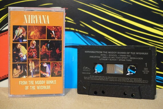 From The Muddy Banks Of The Wishkah by Nirvana Vintage Cassette Tape