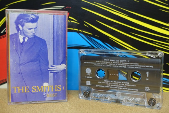 Best... by The Smiths Vintage Cassette Tape