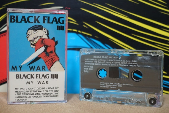 My War by Black Flag Vintage Cassette Tape