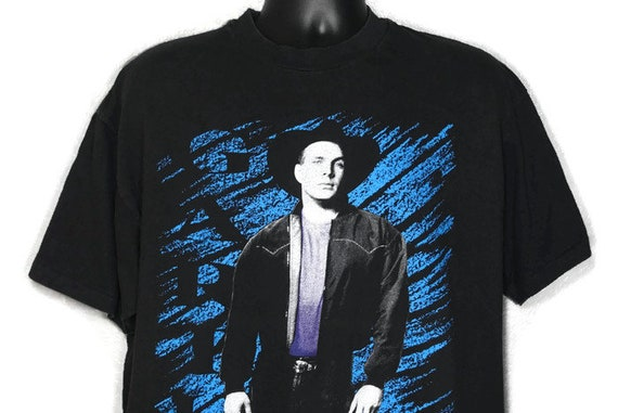 Vintage Original 90s Garth Brooks - 1991  Ropin' The Wind Tour Vintage Country Band Tee Concert T-Shirt