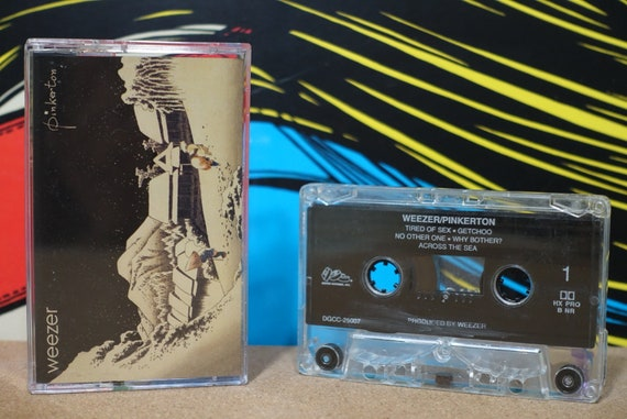 Pinkerton by Weezer Vintage Cassette Tape
