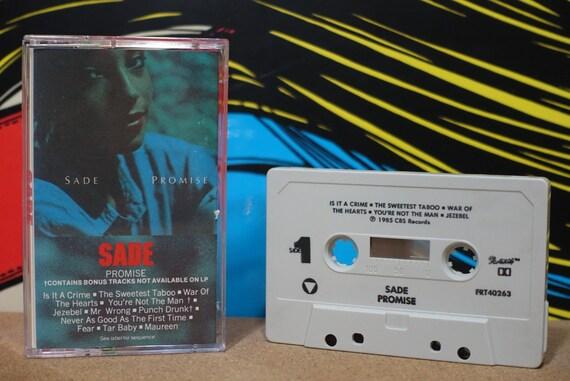 Promise by Sade Vintage Cassette Tape