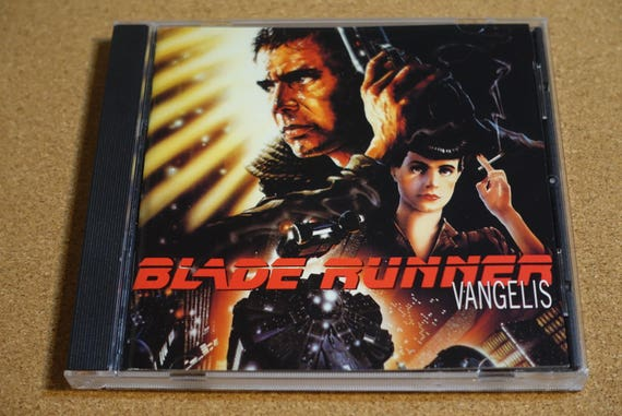 Blade Runner (Music From The Motion Picture) by Various Artists Vintage CD Compact Disc