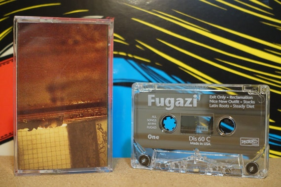 Steady Diet Of Nothing by Fugazi Vintage Cassette Tape