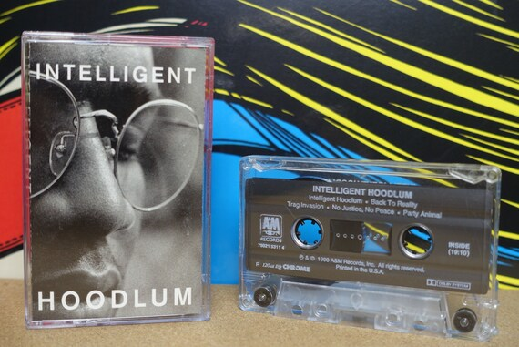 Intelligent Hoodlum - Self Titled Cassette Tape - 1990 A&M Records Vintage Analog Music