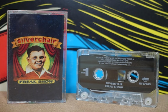 Freak Show by Silverchair Vintage Cassette Tape