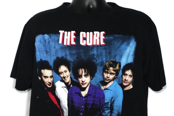 1996 The Cure Vintage T Shirt - '96 Swing Tour - Robert Smith and The Cure Band Tee - 2-Sided Original 90s Concert Band T-Shirt