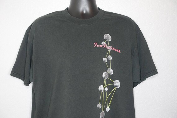1997 Foo Fighters - The Colour and the Shape - Everlong - Double-Sided Vintage Concert T-Shirt