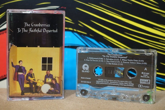 The Cranberries - To The Faithful Departed Cassette Tape - 1996 Island Records Records Vintage Analog Music