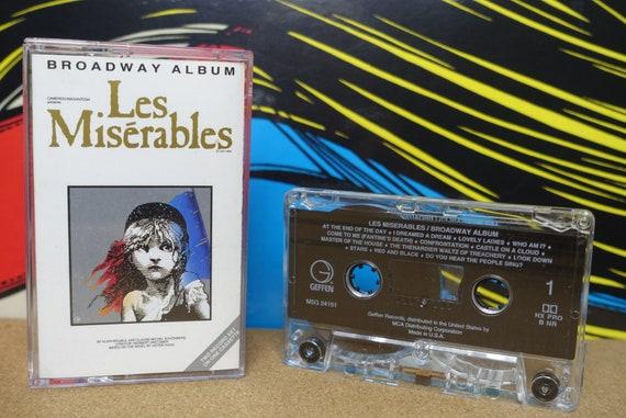 Les Miserables Broadway Album by Alain Boublil And Claude-Michel Schönberg Vintage Cassette Tape