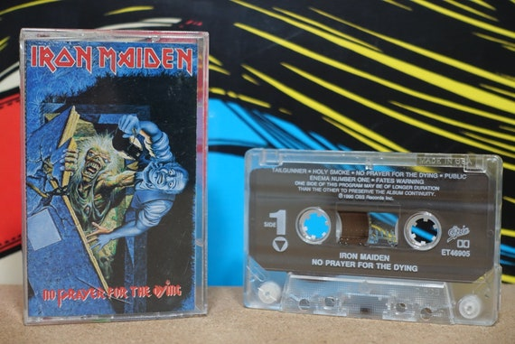 No Prayer For The Dying by Iron Maiden Vintage Cassette Tape