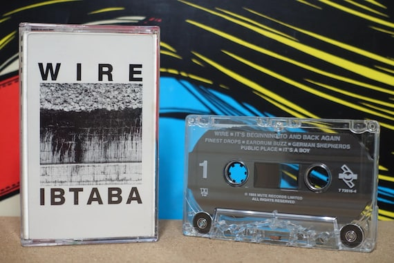 It's Beginning To And Back Again by Wire Vintage Cassette Tape