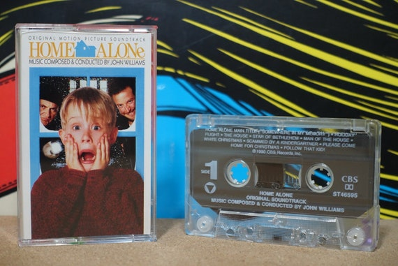 Home Alone (Original Motion Picture Soundtrack) by John Williams Vintage Cassette Tape