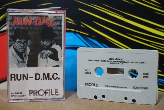 Run-D.M.C. by Run-D.M.C. Vintage Cassette Tape