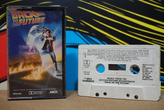 Back To The Future (Music From The Original Motion Picture Soundtrack) by Various Artists Vintage Cassette