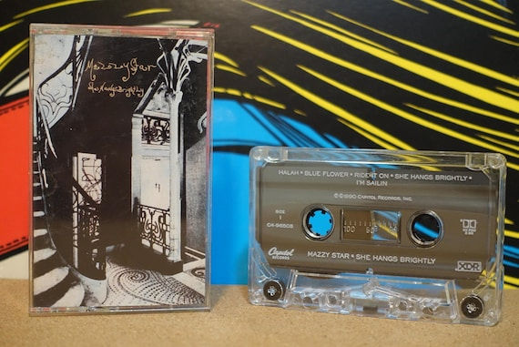 She Hangs Brightly by Mazzy Star Vintage Cassette Tape