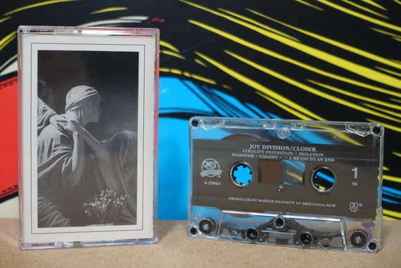 Joy Division - Closer Cassette Tape - 1989 Qwest Records - Vintage Analog Music