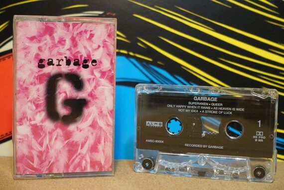 Garbage by Garbage Vintage Cassette Tape