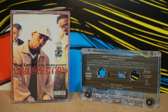 Resurrection by Lords Of The Underground Vintage Cassette Tape