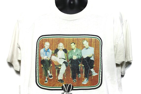 1997 No Doubt Vintage T Shirt - Gwen Stefani Tragic Kingdom Tour Original 90s Concert Band Tee T-Shirt