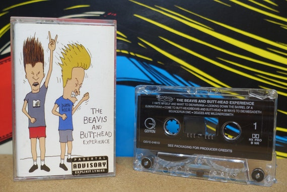 The Beavis And Butt-Head Experience Cassette Tape - 1993 Geffen Records Vintage Analog Music