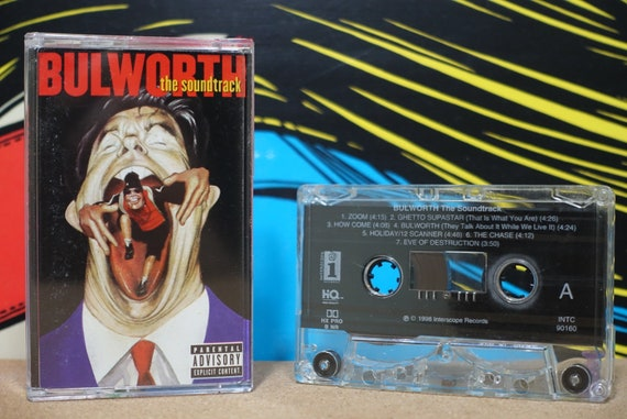 Bulworth (The Soundtrack) by Various Artists Vintage Cassette Tape