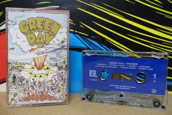 Green Day - Dookie Cassette Tape - 1994 Reprise Records - Vintage Analog Music