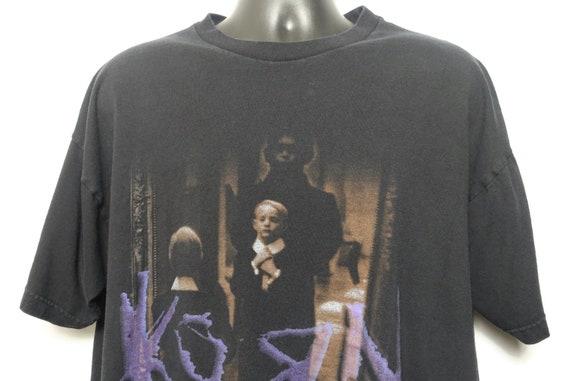 1996 Korn Vintage T Shirt - Life is Peachy Giant Branded Original 90s Concert Band T-Shirt