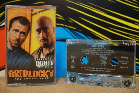Gridlock'd - The Soundtrack by Various Artists 2Pac Snoop Dogg Vintage Cassette Tape