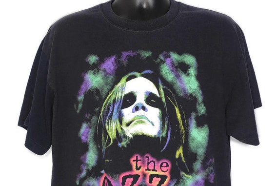1997 Ozzy Osbourne - The Ozz Fest Tour - Ozzy Rules Heavy Metal 2 Sided Original 90s Concert Band T-Shirt