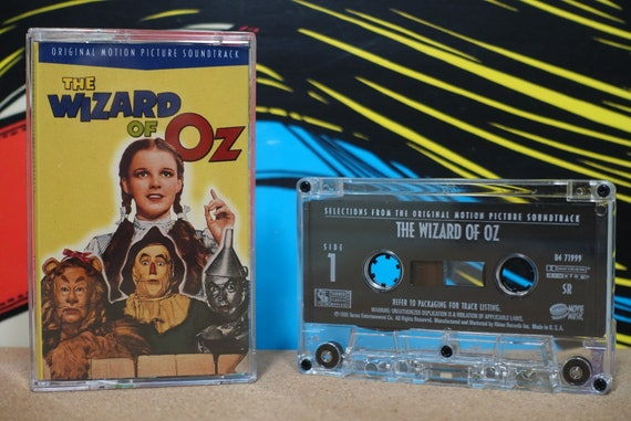 The Wizard Of Oz (Original Motion Picture Soundtrack) by Various Artists Vintage Cassette Tape