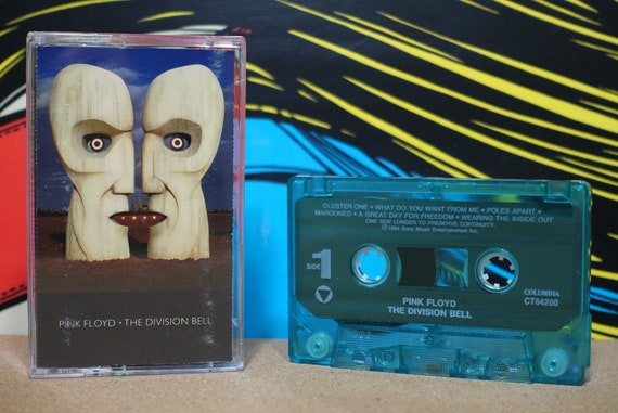 The Wall by Pink Floyd Vintage Cassette Tape