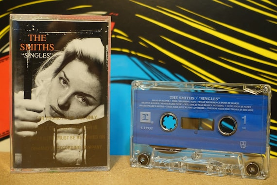 Singles by The Smiths Vintage Cassette Tape