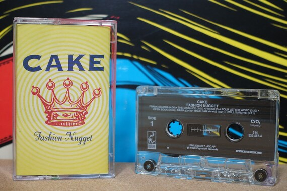 Fashion Nugget by Cake Vintage Cassette Tape