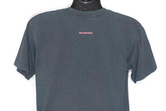 1998 RARE Pearl Jam - boîte noire Jet avion Concert Double-face de Concert avion Vintage T-Shirt e74421